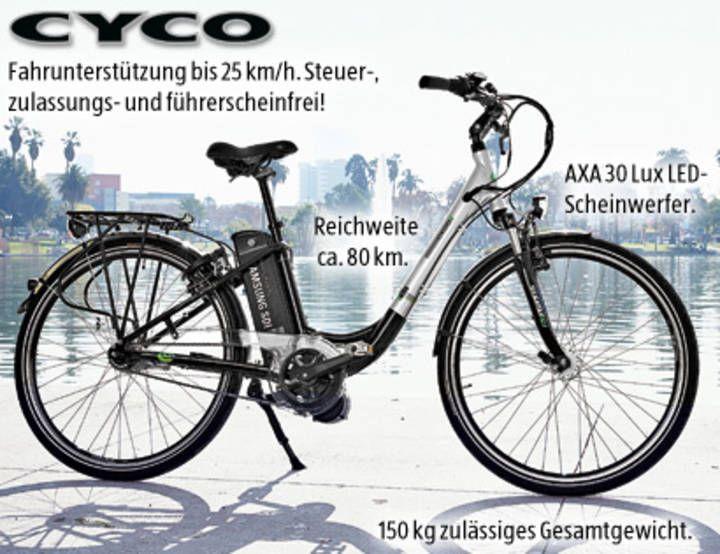 Fahrradfahrer brauchen einen Führerschein ab den 15.6