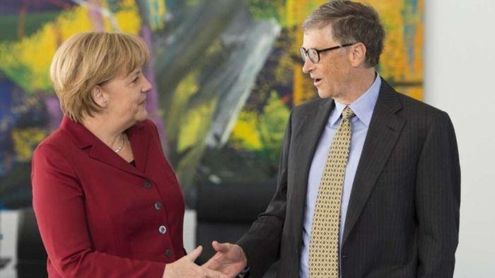 Erst kiffen, dann impfen: Bill Gates und Angela Merkel's gemeinsame Schulzeit