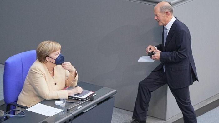 Angela Merkel sprachlos nach Gespräch mit der SPD