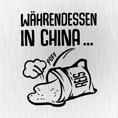 Sack Reis in China umgefallen