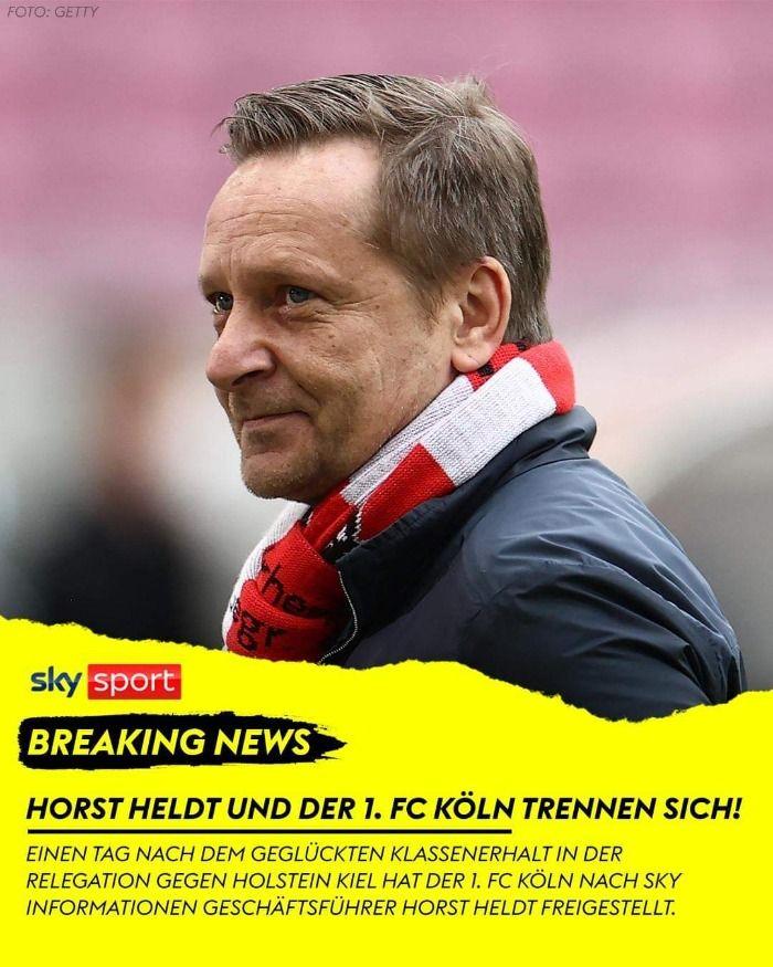 Horst Heldt neben Ivica Grlic zweiter Sportdirektor beim MSV Duisburg