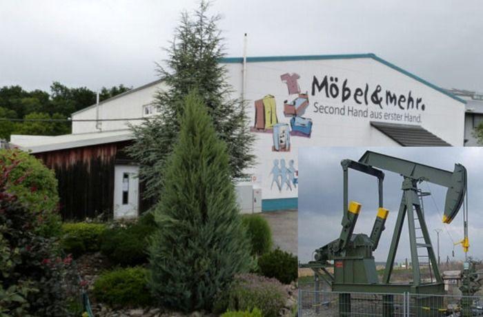Ölfund in Kitzingen