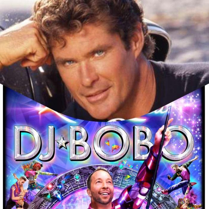DJ Bobo und The Hoff 2023 auf Tour!!