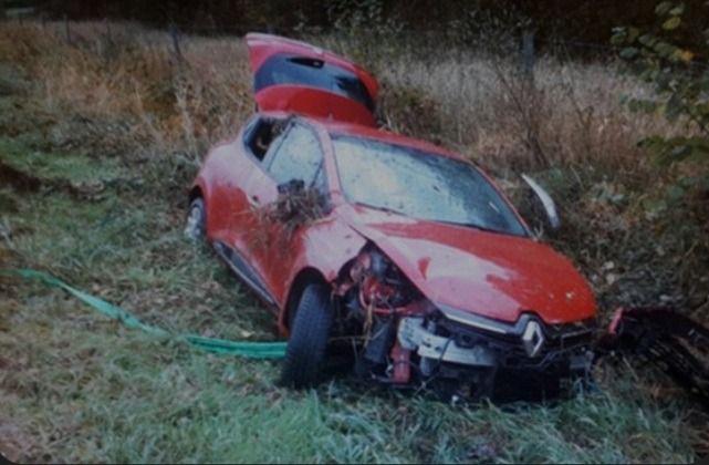 Schwerer Autounfall auf A60