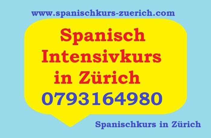 Spanisch Intensivkurs in Zürich. Spanischkurs Intensiv in Zürich. 24aktuelles.com/
