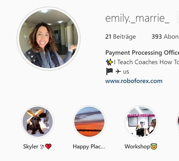 Scammers on Instagram