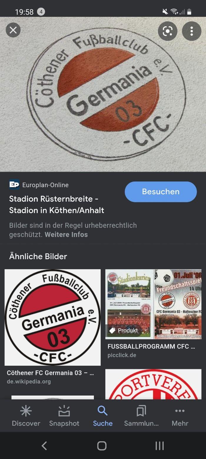 Germania kann kein Fußball spielen