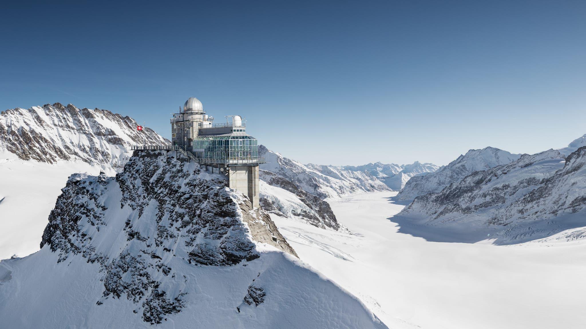 Windwarnung Jungfraujochbahnen
